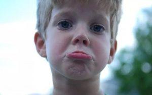 O desabafo de uma criança